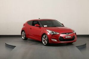 2013 Hyundai Veloster FS MY13 Maroon 6 Speed Auto Dual Clutch Coupe