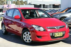 2010 Hyundai i30 FD MY10 SX Red 4 Speed Automatic Hatchback Liverpool Liverpool Area Preview