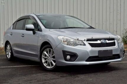 2013 Subaru Impreza G4 MY13 2.0i Lineartronic AWD Silver 6 Speed Constant Variable Sedan Upper Ferntree Gully Knox Area Preview