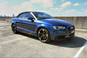 2014 Audi A3 8V MY15 Attraction S tronic Blue 7 Speed Sports Automatic Dual Clutch Cabriolet Haymarket Inner Sydney Preview