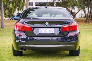 2013 BMW 528I F10 LCI M Sport Steptronic Black 8 Speed Sports Automatic Sedan