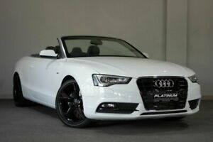 2012 Audi A5 8T MY13 Multitronic White 8 Speed Constant Variable Cabriolet Bayswater Bayswater Area Preview