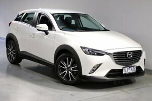 2017 Mazda CX-3 DK sTouring White Sports Automatic South Morang Whittlesea Area Preview