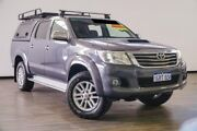 2013 Toyota Hilux KUN26R MY12 SR5 Double Cab Grey 4 Speed Automatic Utility Myaree Melville Area Preview