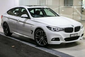 2018 BMW 330i F34 LCI M Sport Gran Turismo White 8 Speed Sports Automatic Hatchback South Melbourne Port Phillip Preview
