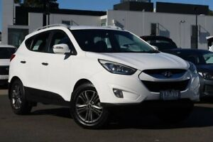 2013 Hyundai ix35 LM3 MY14 Elite AWD White 6 Speed Sports Automatic Wagon South Melbourne Port Phillip Preview