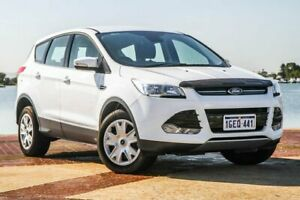 2016 Ford Kuga TF MY16.5 Ambiente 2WD White 6 Speed Sports Automatic Wagon Bunbury Bunbury Area Preview
