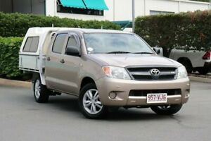 2007 Toyota Hilux GGN15R MY07 SR 4x2 Bronze 5 Speed Manual Utility