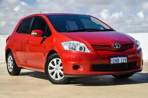 2010 Toyota Corolla ZRE152R MY10 Ascent Red 4 Speed Automatic Hatchback Osborne Park Stirling Area Preview