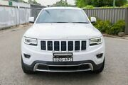 2015 Jeep Grand Cherokee WK MY15 Limited White 8 Speed Sports Automatic Wagon Greenacre Bankstown Area Preview