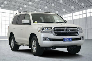2019 Toyota Landcruiser VDJ200R GXL Pearl White 6 Speed Sports Automatic Wagon