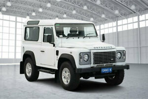 2014 Land Rover Defender 90 15MY White 6 Speed Manual Wagon