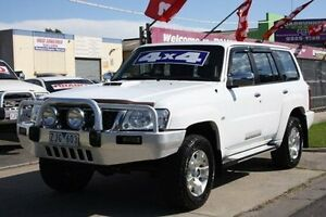 2011 Nissan Patrol GU 7 MY10 ST White 4 Speed Automatic Wagon Altona North Hobsons Bay Area Preview