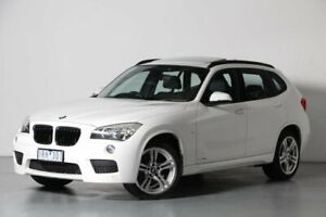 2013 BMW X1 E84 LCI sDrive18d Steptronic White 8 Speed Sports Automatic Wagon Port Melbourne Port Phillip Preview