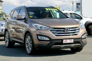2013 Hyundai Santa Fe DM MY14 Highlander Beach Sand 6 Speed Sports Automatic Wagon Cleveland Redland Area Preview