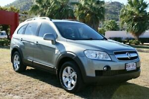 2009 Holden Captiva CG MY10 CX AWD Silver 5 Speed Sports Automatic Wagon Townsville Townsville City Preview