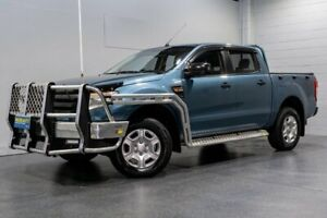 2014 Ford Ranger PX XL 3.2 (4x4) Blue 6 Speed Automatic Dual Cab Utility Woodridge Logan Area Preview