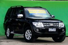2012 Mitsubishi Pajero NW MY12 Platinum Black 5 Speed Sports Automatic Wagon Ringwood East Maroondah Area Preview