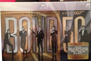 James Bond Blu-ray Gift Set (NEW, sealed) Regina Regina Area image 1