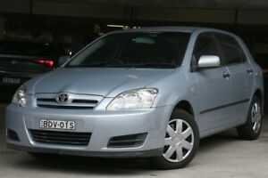 2006 Toyota Corolla ZZE122R Ascent Seca Blue 5 Speed Manual Hatchback Brookvale Manly Area Preview