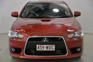 2010 Mitsubishi Lancer CJ MY10 Ralliart Sportback TC-SST Red 6 Speed Sports Automatic Dual Clutch Mansfield Brisbane South East Preview