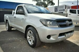 2005 Toyota Hilux GGN15R MY05 SR 4x2 Silver 5 Speed Manual Utility Liverpool Liverpool Area Preview