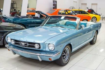 1965 Ford Mustang GT Blue Manual Convertible Carss Park Kogarah Area Preview