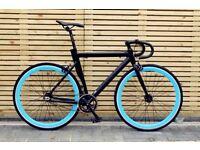 Goku cycles single speed bike fixed gear racing fixie track bike brand new aluminium frame bicycle u