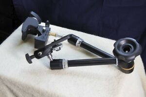 Manfrotto Magic arm with camera bracket & heavy duty clamp
