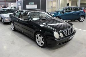 2000 Mercedes-Benz CLK320 C208 Elegance Black 5 Speed Automatic Coupe Maryville Newcastle Area Preview