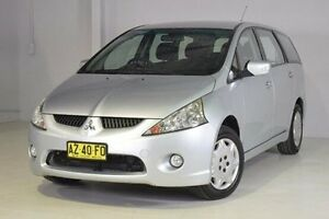 2008 Mitsubishi Grandis BA MY08 LS Silver 4 Speed Sports Automatic Wagon Wadalba Wyong Area Preview