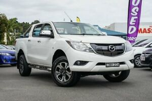 2016 Mazda BT-50 UR0YF1 XTR White 6 Speed Sports Automatic Utility Tweed Heads Tweed Heads Area Preview