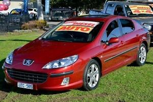 2007 Peugeot 407 ST HDI Maroon 6 Speed Sports Automatic Sedan Ferntree Gully Knox Area Preview