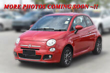 2014 Fiat 500 150 Series 3 S Dualogic Red 5 Speed Sports Automatic Single Clutch Hatchback Pakenham Cardinia Area Preview