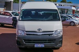 2011 Toyota Hiace KDH223R MY11 Commuter High Roof Super LWB White 4 Speed Automatic Bus Westminster Stirling Area Preview