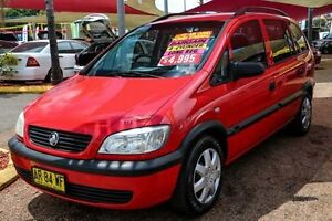 2002 Holden Zafira TT Red 4 Speed Automatic Wagon Colyton Penrith Area Preview