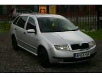 Skoda Fabia 1.4 (Cheap estate car with MOT)