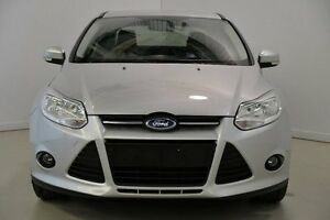 2012 Ford Focus LW Trend PwrShift Silver 6 Speed Sports Automatic Dual Clutch Sedan Mansfield Brisbane South East Preview