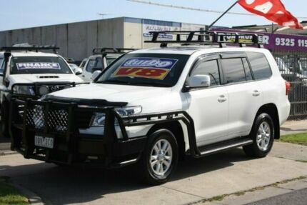 2014 Toyota Landcruiser VDJ200R MY13 GXL White 6 Speed Sports Automatic Wagon Altona North Hobsons Bay Area Preview