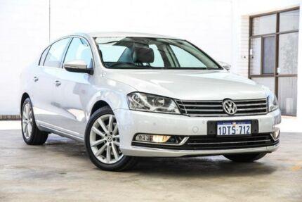 2011 Volkswagen Passat 3C MY10 Upgrade 118 TSI Silver 7 Speed Auto Direct Shift Sedan