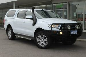 2017 Ford Ranger PX MkII XLT Double Cab White 6 Speed Sports Automatic Utility Osborne Park Stirling Area Preview