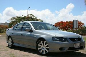 2008 Ford Falcon BF Mk II SR Silver 4 Speed Sports Automatic Sedan Townsville Townsville City Preview
