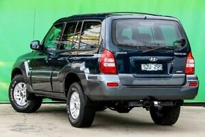 2004 Hyundai Terracan HP MY05 Blue 4 Speed Automatic Wagon Ringwood East Maroondah Area Preview