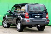 2004 Hyundai Terracan HP MY05 Blue 4 Speed Automatic Wagon Ringwood East Maroondah Area Preview