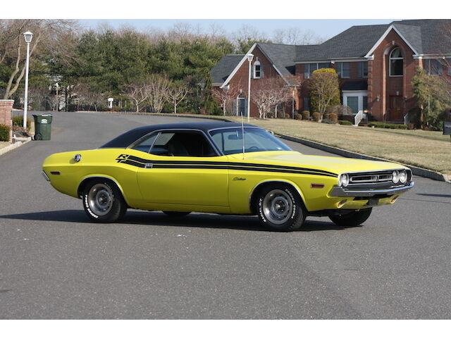 Imagen 1 de Dodge Challenger yellow