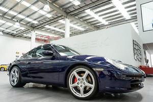 2002 Porsche 911 996 Targa Lapis Blue 5 Speed Tiptronic Coupe Port Melbourne Port Phillip Preview