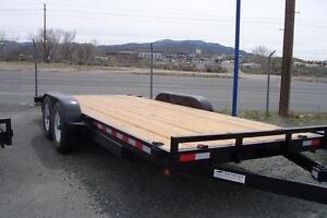 18' Iron Panther 10,000 lb dual axle trailer