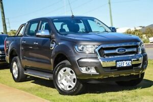 2017 Ford Ranger PX MkII XLT Double Cab Grey 6 Speed Sports Automatic Utility Wangara Wanneroo Area Preview