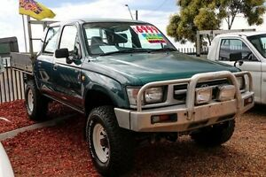 1997 Toyota Hilux (4X4)RZN169R (4X4)RZN169R Green 5 Speed Manual DUELCAB UTE Minchinbury Blacktown Area Preview