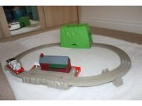 Thomas & Friends Track Set with Stanley train, works with battery